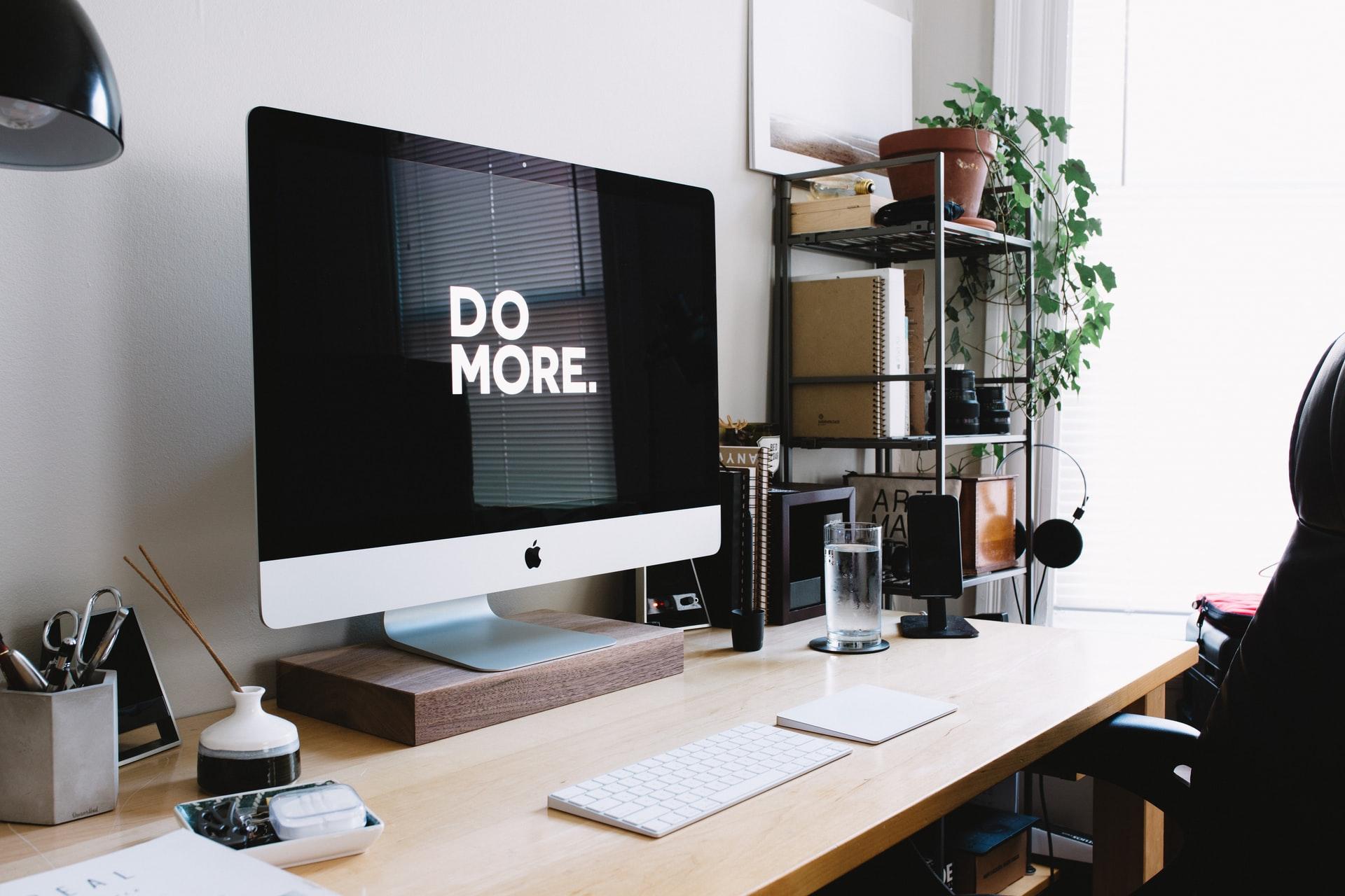 office with desktop