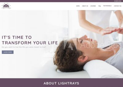 Reiki Website Design