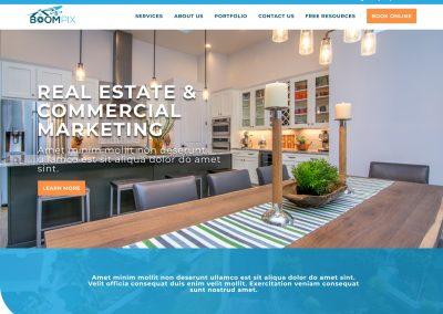 Real Estate Photography Website Design
